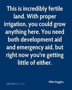 This is incredibly fertile 