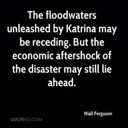 The floodwaters 
