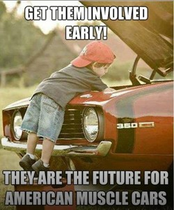 GET THEM INVOLVED 