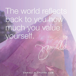 The world reflects 