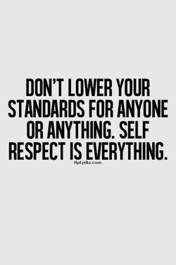 DON'T LOWER YOUR 