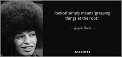 Radical simply means 'grasping 