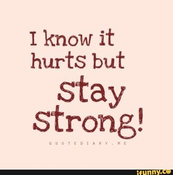 I know it 