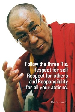 F w the three R's: 
