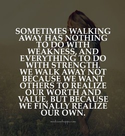 SOMETIMES WALKING 