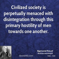 Civilized society is 