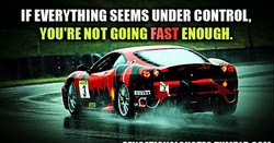 IF EVERYTHING SEEMS UNDER CONTROL, 