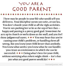 GOOD PARENT 