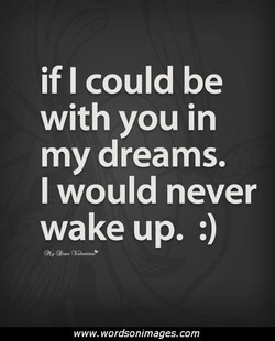 if I could be 