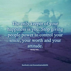 *The only keeper of your 