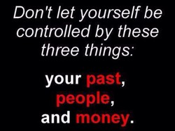 Don't let yourself be 