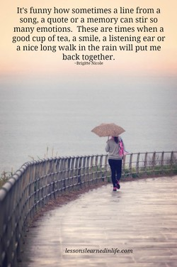 It's funny how sometimes a line from a 