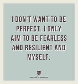 I DON'T WANT TO BE 