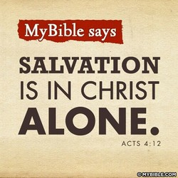 My Bible say S 