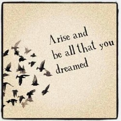 Arise and 