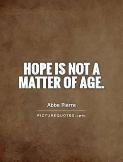 HOPE IS NOT A 