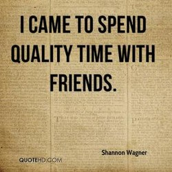 I CAME TO SPEND 