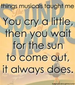 things musicalS taughtme 