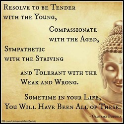 RESOLVE TO BE TENDER 