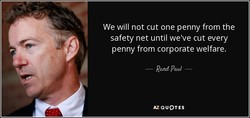We will not cut one penny from the 