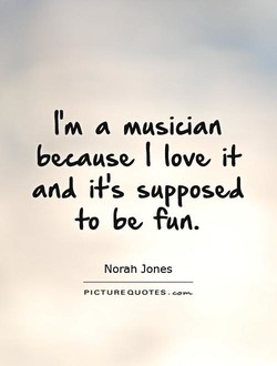 a musician 