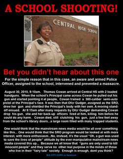 A SCHOOL SHOOTING! 