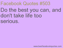 Facebook Quotes #503 