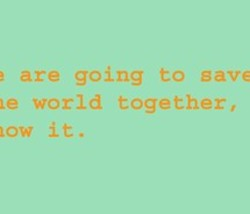 are going to save 