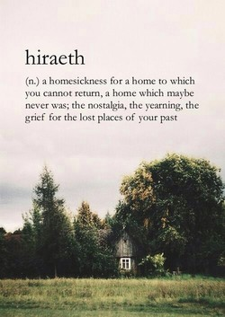 hiraeth 