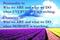 Personality is: