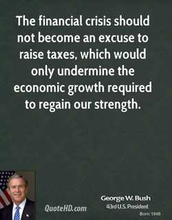 The financial crisis should 