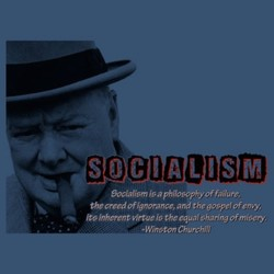 Socialism is a philosophy of failure, 