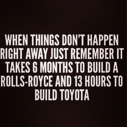 WHEN THINGS DON'T HAPPEN 