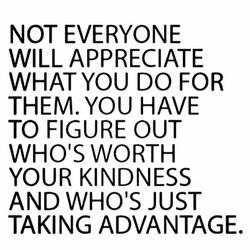 NOT EVERYONE 