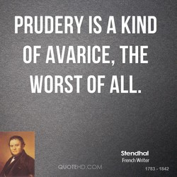 PRUDERY IS A KIND 