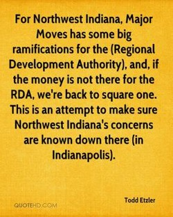For Northwest Indiana, Major 