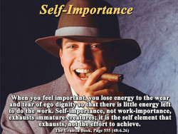 Self-Importance 