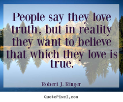 People say they love 