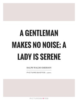 A GENTLEMAN 