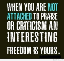 WHEN YOU ARE NOT 