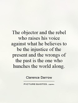 The objector and the rebel 