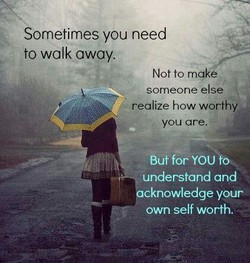 Sometimes you need 