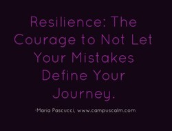 Courage to Not Let 
