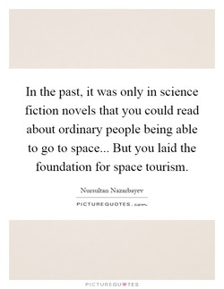 In the past, it was only in science 