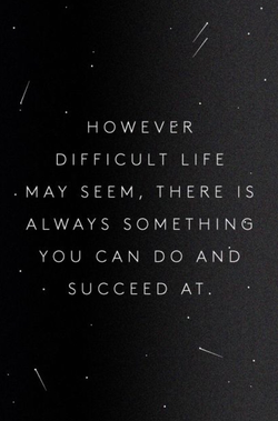 DIFFICULT LIFE 