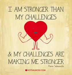 C AM STRONGER THAN 