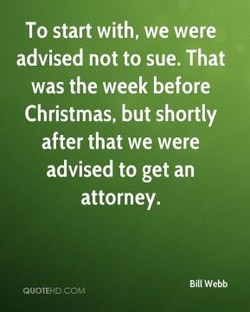 To start with, we were 