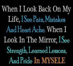 1 Look Back On My 