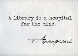 'IA library is a hospital 