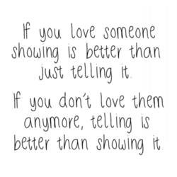 If love someone 